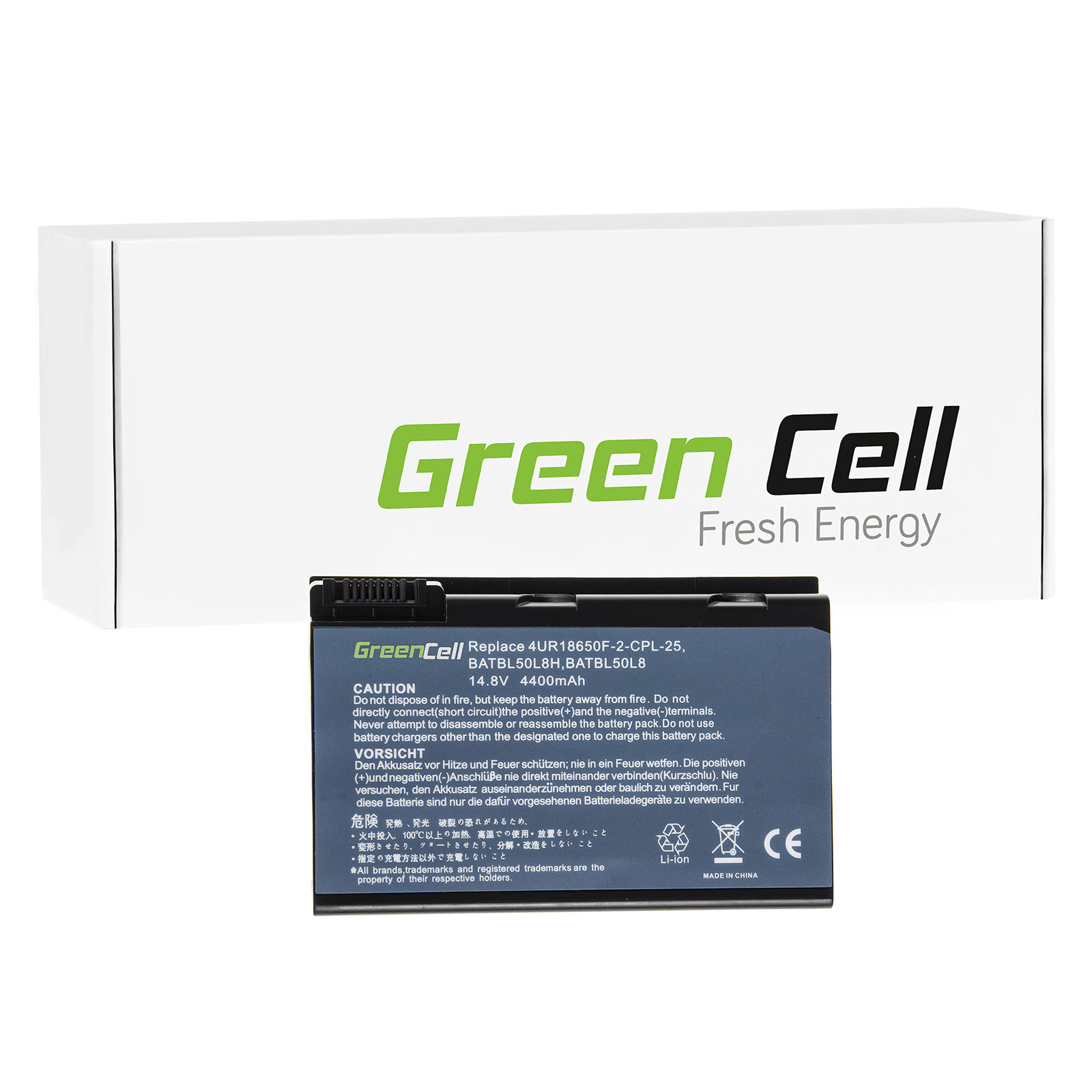 green cell batterie pour acer aspire 5633wxlmi ordinateur. Black Bedroom Furniture Sets. Home Design Ideas