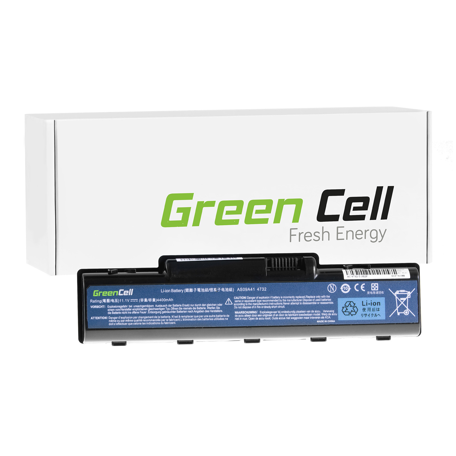 green cell batterie pour packard bell easynote tr85. Black Bedroom Furniture Sets. Home Design Ideas