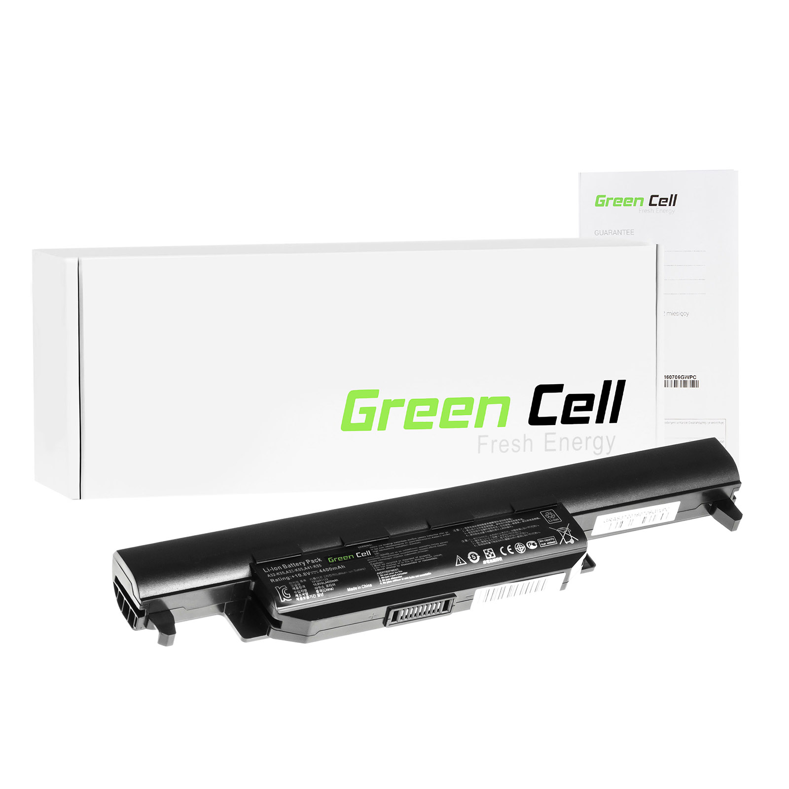 green cell batterie pour asus a85d ordinateur pc portable. Black Bedroom Furniture Sets. Home Design Ideas