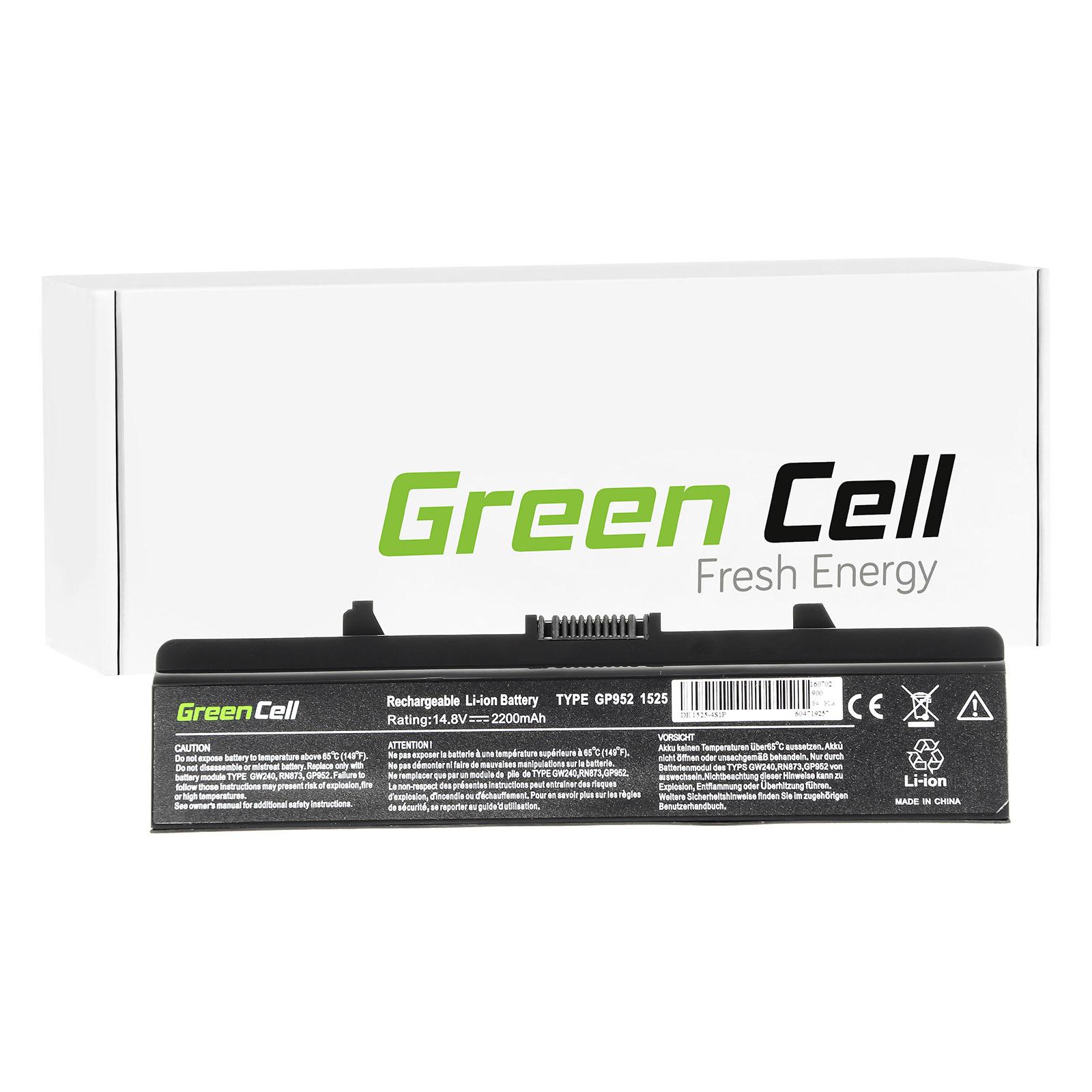 green cell 0cr693 batterie pour dell ordinateur pc. Black Bedroom Furniture Sets. Home Design Ideas