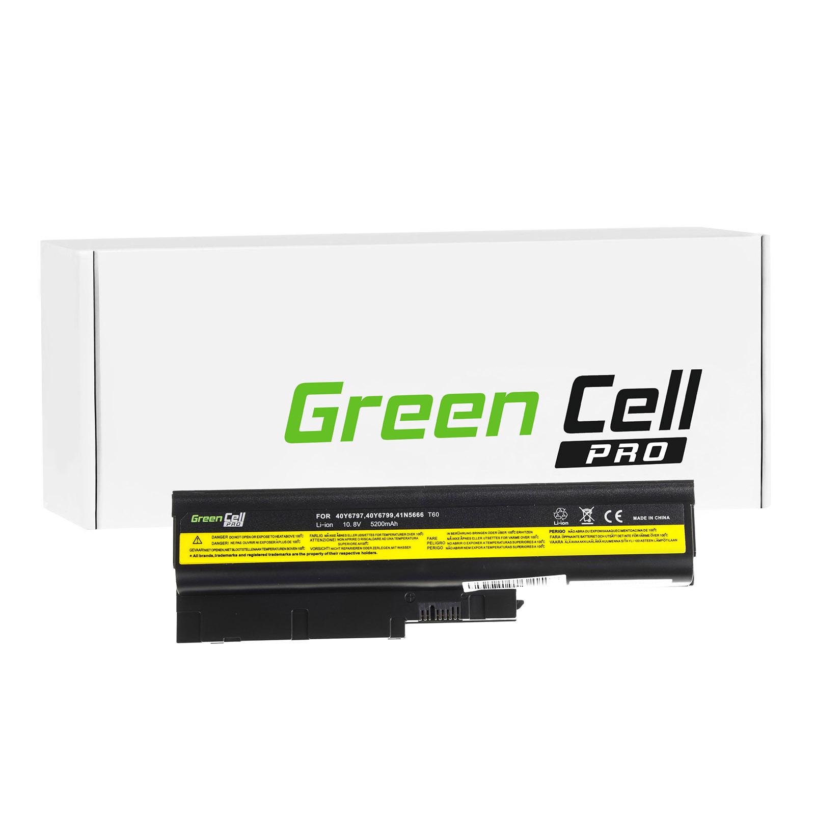green cell pro batterie lenovo ibm thinkpad t500 2056. Black Bedroom Furniture Sets. Home Design Ideas