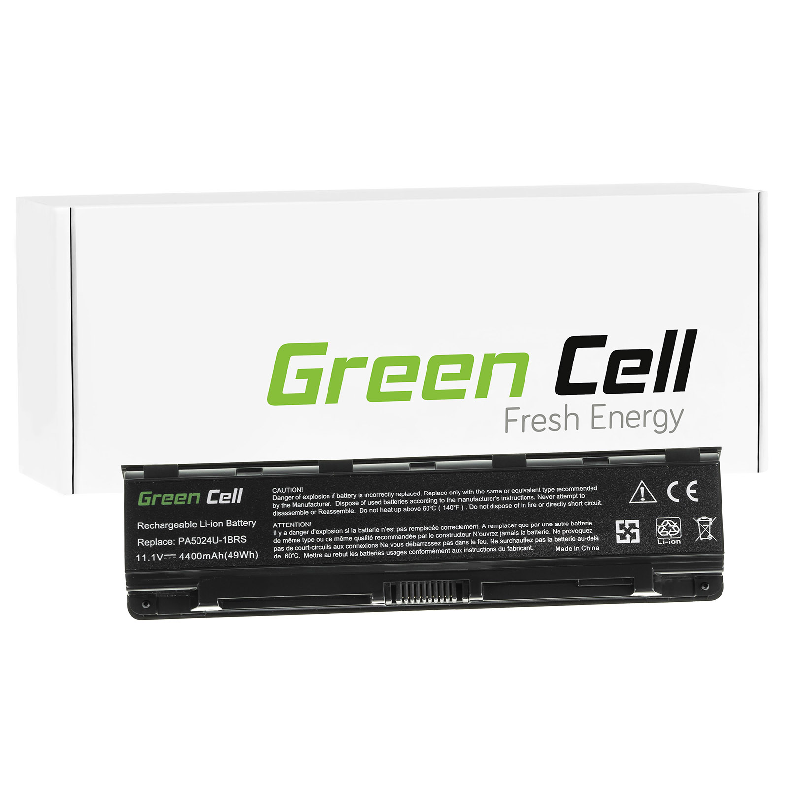 green cell batterie pour toshiba satellite c50 a 12k. Black Bedroom Furniture Sets. Home Design Ideas