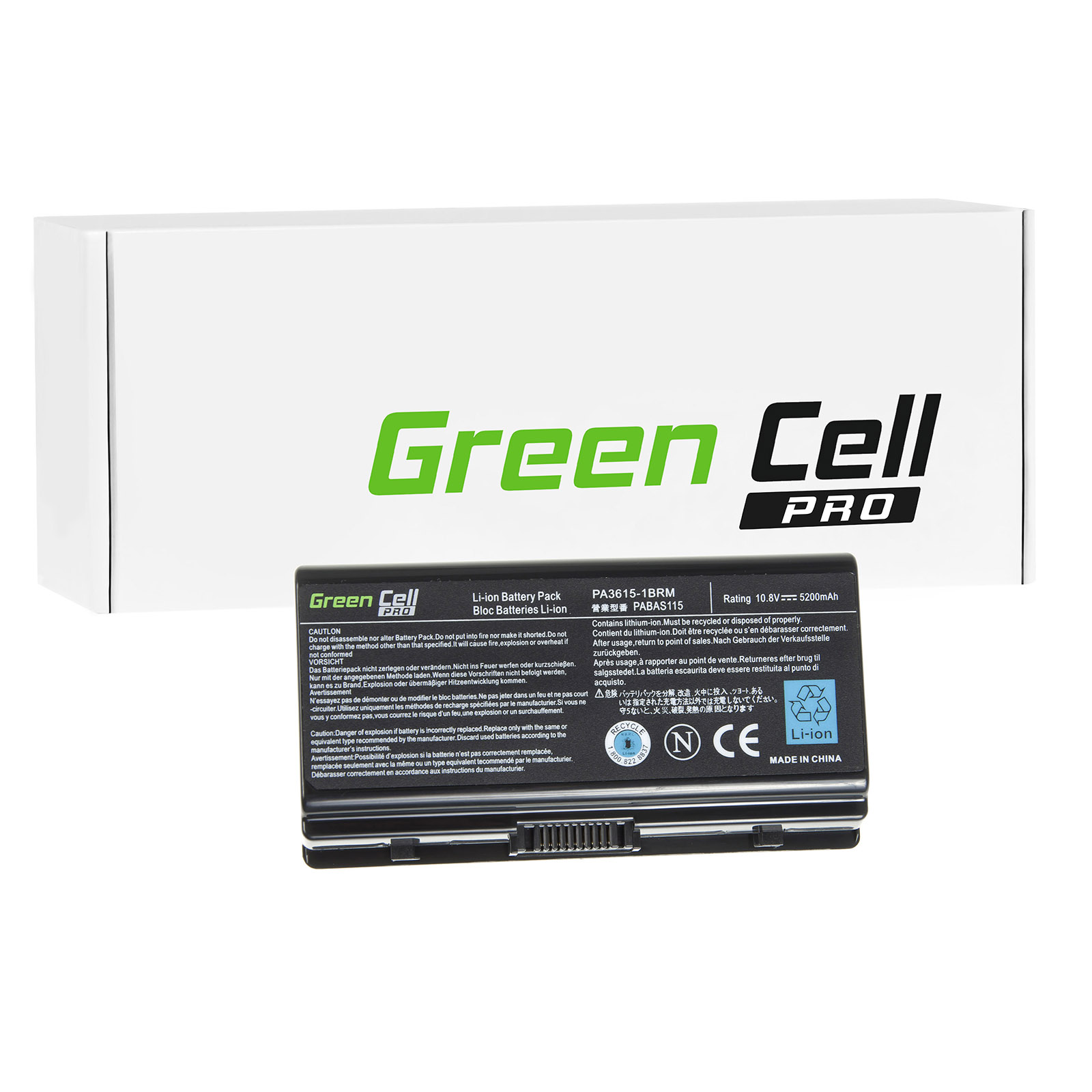 green cell pro batterie pour toshiba satellite l40t. Black Bedroom Furniture Sets. Home Design Ideas
