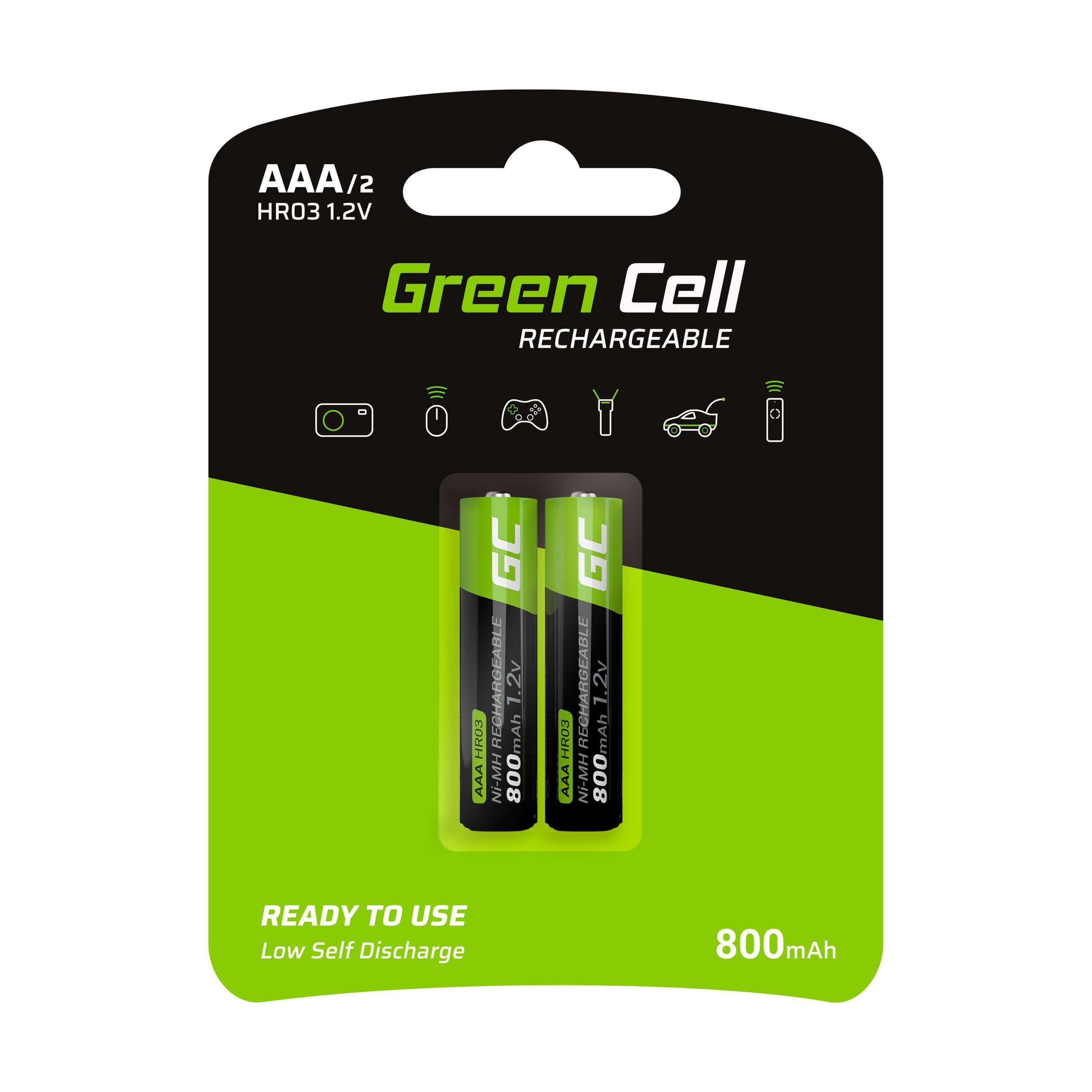 Hippie Farbige Akkus vorgeladene Batterien Micro Mignon wiederaufladbar