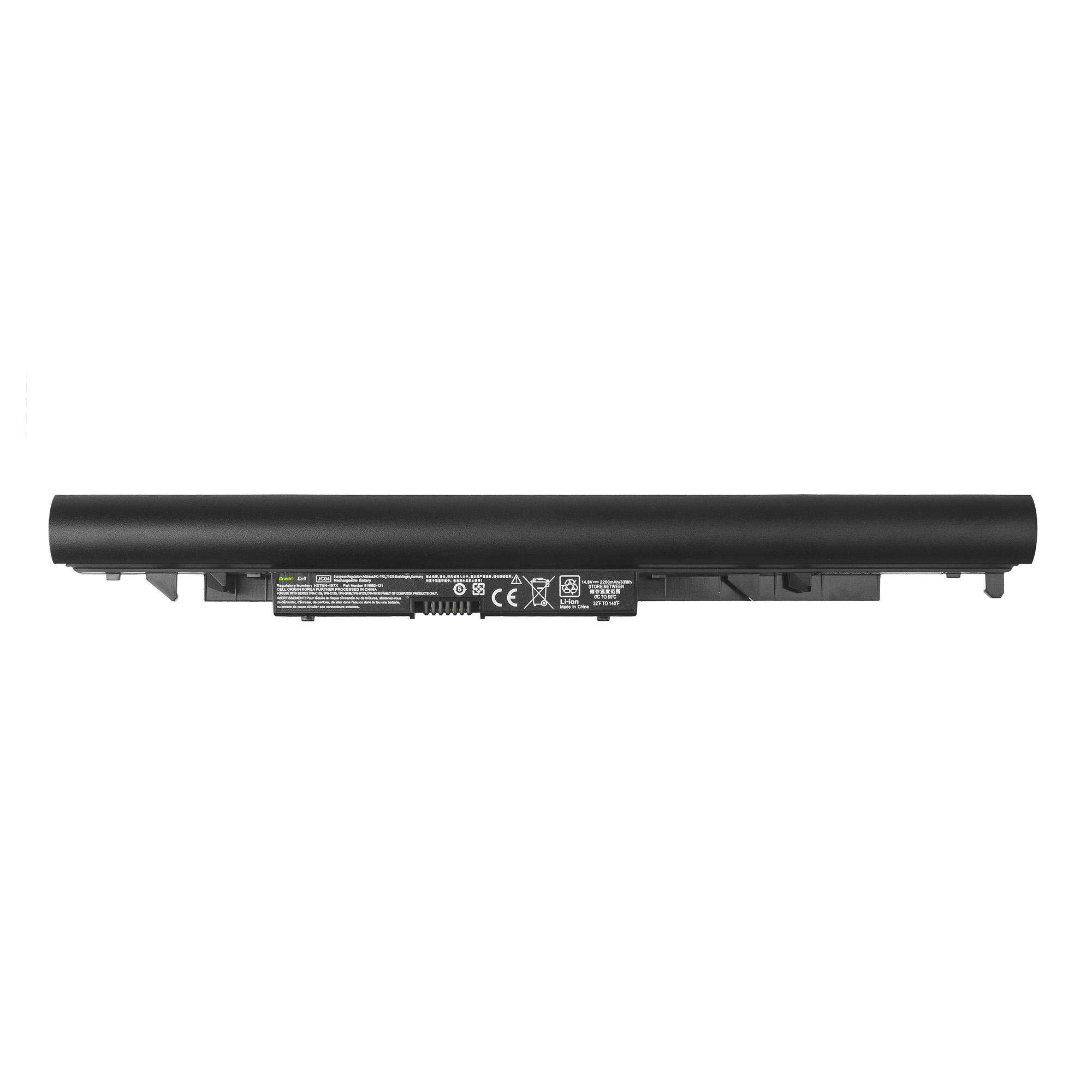 Batterie 2200mAh 14.8V pour ordinateur portable HP COMPAQ ENVY 17-K170NO