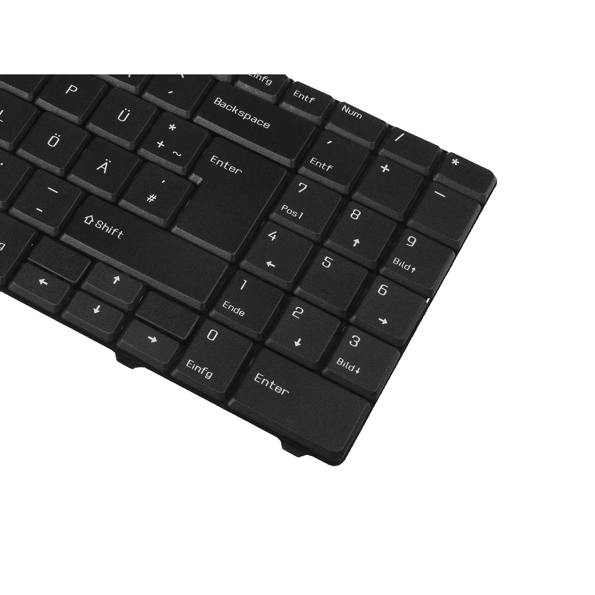 Green Cell/® Notebook Tastatur f/ür Packard Bell MS2273 DE QWERTZ NEU