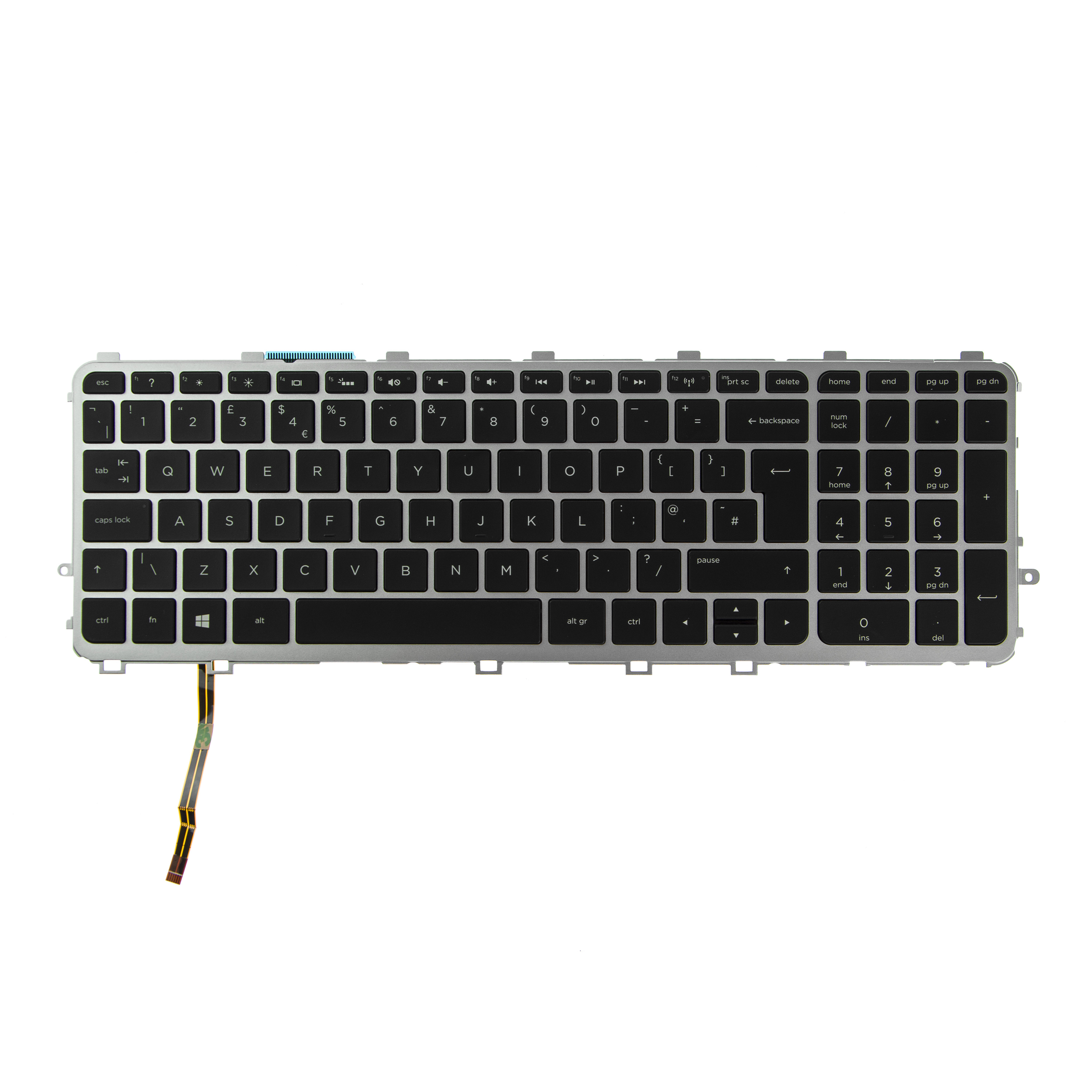 Clavier-pour-Ordinateur-HP-Envy-15-J185NR-15-J185SR-QWERTY-UK-English