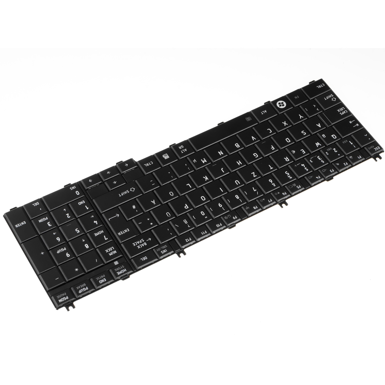 Clavier-pour-Ordinateur-Portable-Toshiba-Satellite-L750-09J-QWERTZ