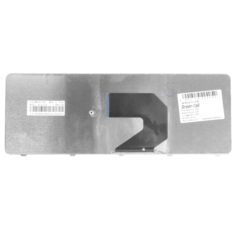Clavier-pour-Ordinateur-Portable-HP-Compaq-Presario-CQ57-393SG-QWERTZ